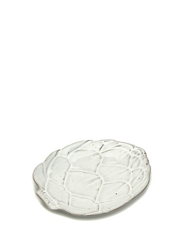 Miecasa Miecasa 101542233 Bordallo Pinherio Artichoke Seramik Ekmek ğı Beyaz
